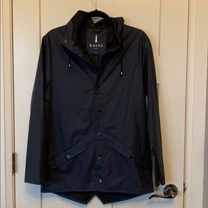 Rains water jacket.